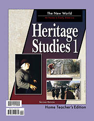Heritage Studies 1 Home Teachers Edition 2nd Edition