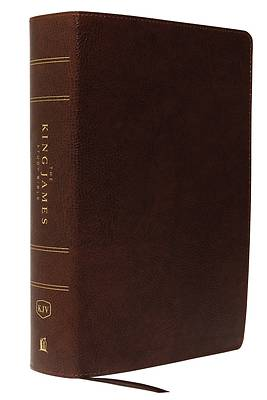 The King James Study Bible, Bonded Leather, Brown, Indexed, Full-Color Edition