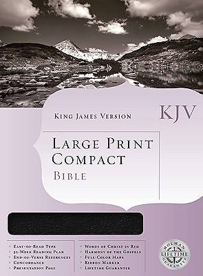 KJV Large Print Compact Reference Bible