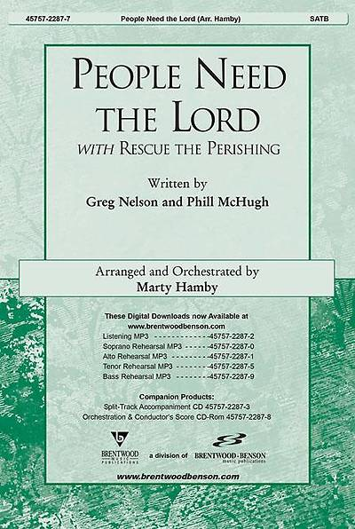 People Need the Lord Orchestration/Conductors Score CD-ROM