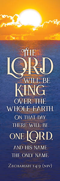 The Lord will Be King Bookmark