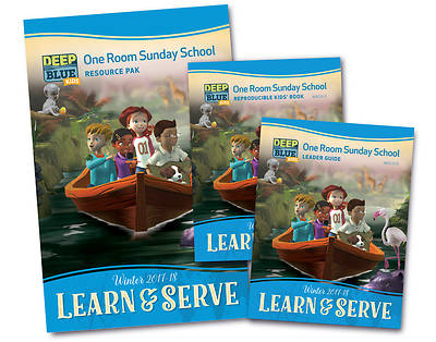Deep Blue Learn & Serve One Room Sunday School Kit Winter 2017-18 Download