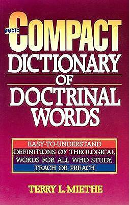 The Compact Dictionary of Doctrinal Words