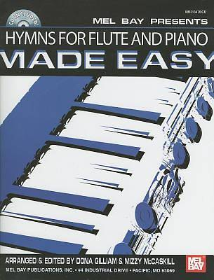 Hymns for Flute and Piano Made Easy With CD (Audio)