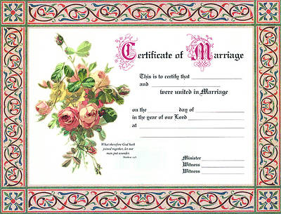 Marriage Certificate - 8