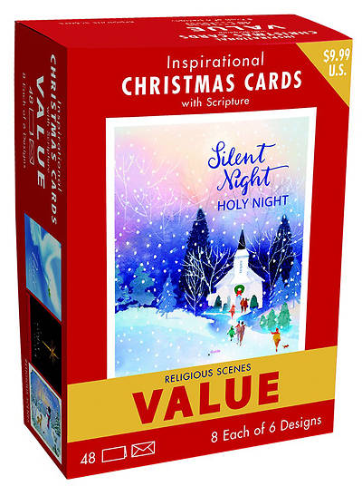 Inspirational christmas card value pack silent night cokesbury inspirational christmas card value pack silent night m4hsunfo