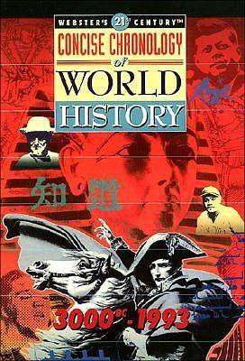 Websters 21st Century Chronology of World History, 3000 BC-1993
