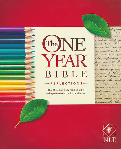 The One Year Bible Reflections Edition NLT