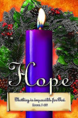 Advent Sunday 1 Purple Bulletin 2013, Regular Size (Package of 50)
