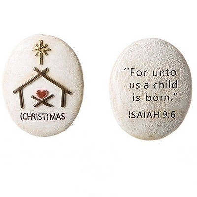 (Christ)mas Pocket Stone