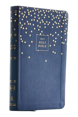 Nkjv, Thinline Bible Youth Edition, Leathersoft, Blue, Red Letter Edition, Comfort Print