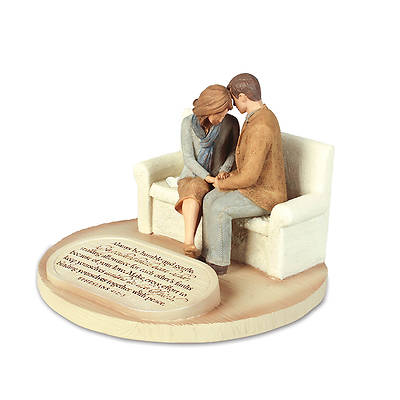 Devoted Sculpture Series - Praying Couple