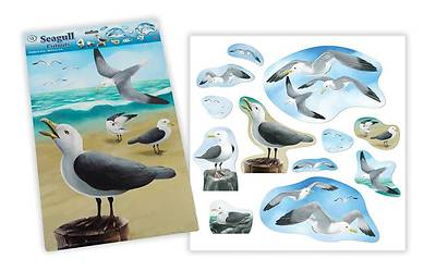 Miracle of Jesus Seagull Cut-Outs