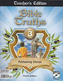 Bible Truths Teacher Book Grd 3 4th Edition with CD