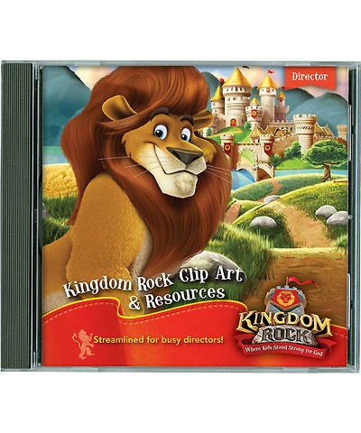 Group Vacation Bible School 2013 Kingdom Rock Clip Art & Resources CD
