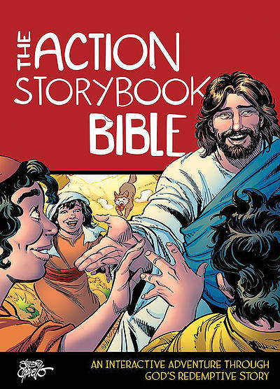 The Action Storybook Bible: An Interactive Adventure Through Gods Redemptive Story ( Action Bible ) (Case of 24)