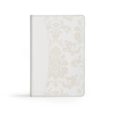 CSB Brides Bible, White Leathertouch