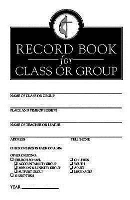 Record Book for Class or Group (Pkg of 12)