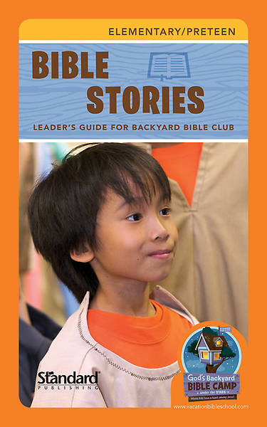 Standard Vacation Bible School 2013 Gods Backyard Bible Camp Stars Bible Story Leaders Guide