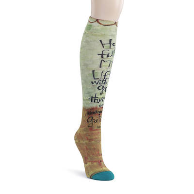 LYS Knee Sock - He Fills My Life