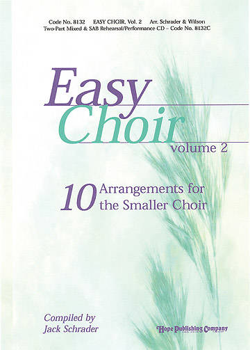 Easy Choir Volume 2 Choral Book