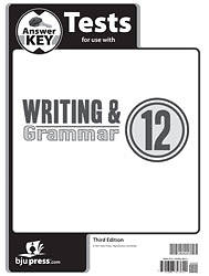 Writing Grammar Tests AK Grd12