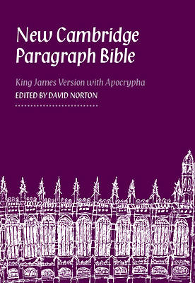 New Cambridge Paragraph Bible with Apocrypha Personal Size Kj590