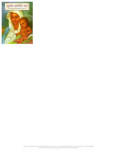 God With Us Christmas Nativity Letterhead 2012 (Package of 50)