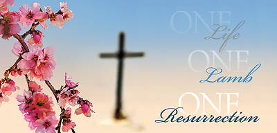 One Life, One Lamb, One Resurrection Offering Envelope