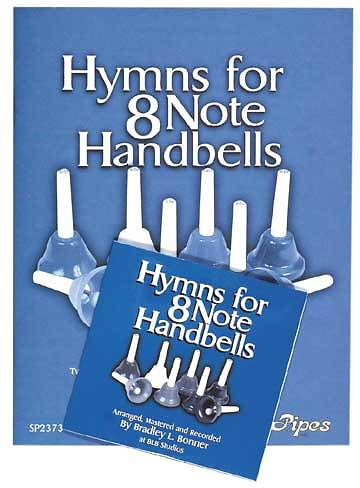 Hymns For 8-Note Handbells Package - Book and CD
