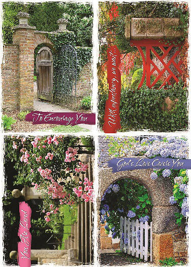 Garden Gates Encouragement Boxed Cards