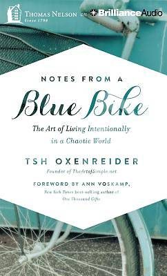 Notes from a Blue Bike Audiobook - MP3 CD