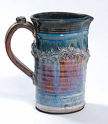 Crown of Thorns Pastel Porcelain Flagon
