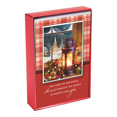 Light Of The World Boxed Christmas Card