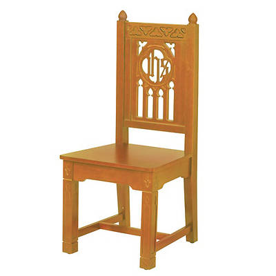 Florentine Collection Side Chair - Medium Oak Stain