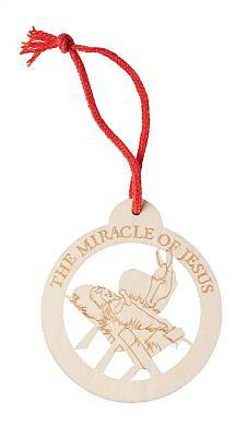 Miracle of Jesus Ornament, Pkg of 10