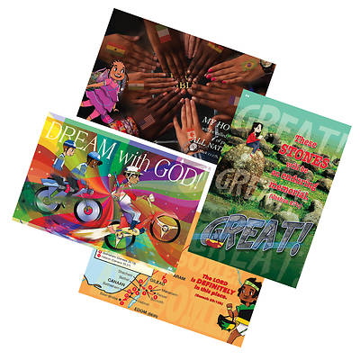 Vacation Bible School (VBS) 2018 24/7 Decorating/Publicity Poster Pak