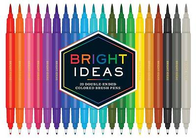 Bright Ideas Double-Ended Colored Brush Pens