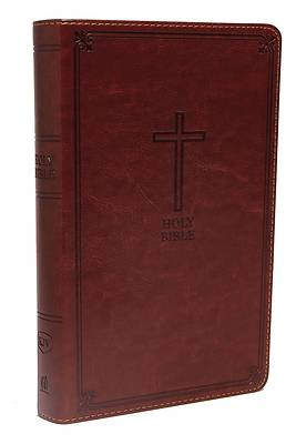 KJV, Deluxe Gift Bible, Imitation Leather, Red, Red Letter Edition