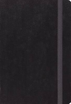 ESV Large Print Compact Bible (Black with Strap)
