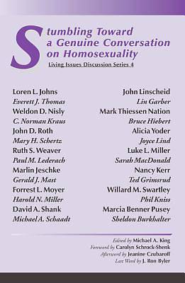 Stumbling Toward a Genuine Conversation on Homosexuality [Adobe Ebook]