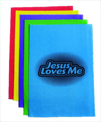 Concordia VBS 2015 Camp Discovery Jesus Loves Me Buffs, Team Identifiers (Pkg of 10)