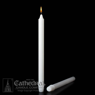 Cathedral Stearine Molded Candles - 7/8