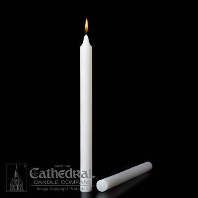 Cathedral Stearine Molded Candles - 13/16