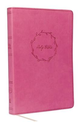 Kjv, Value Thinline Bible, Large Print, Leathersoft, Pink, Red Letter Edition, Comfort Print