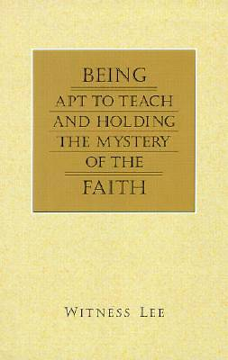 Being Apt to Teach and Holding the Mystery of the Faith