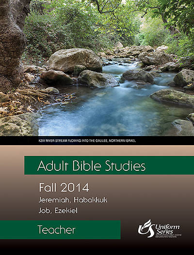 Adult Bible Studies Fall 2014 Teacher