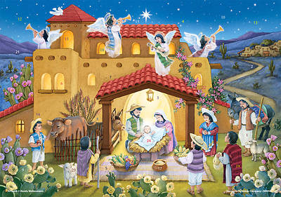 Noche de Paz Advent Calendar (text in Spanish)