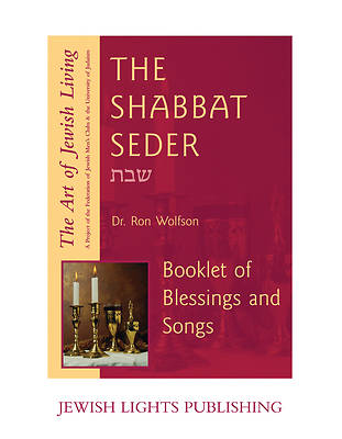 Shabbat Seder Booklet of Blessings and Songs