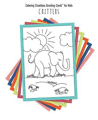 Coloring Creations Greeting Cards(tm) for Kids - Critters